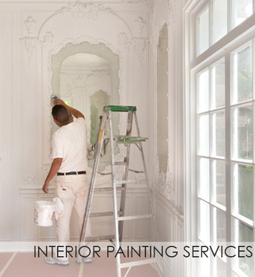 Full interior painting services