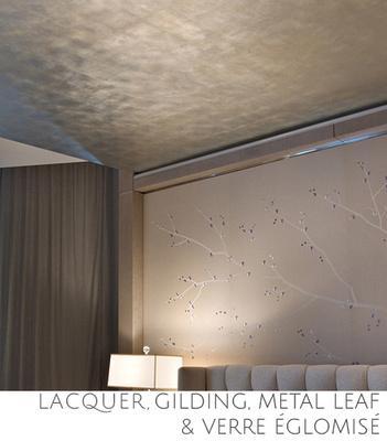Gilding, Metal Leaf and Verre Eglomise